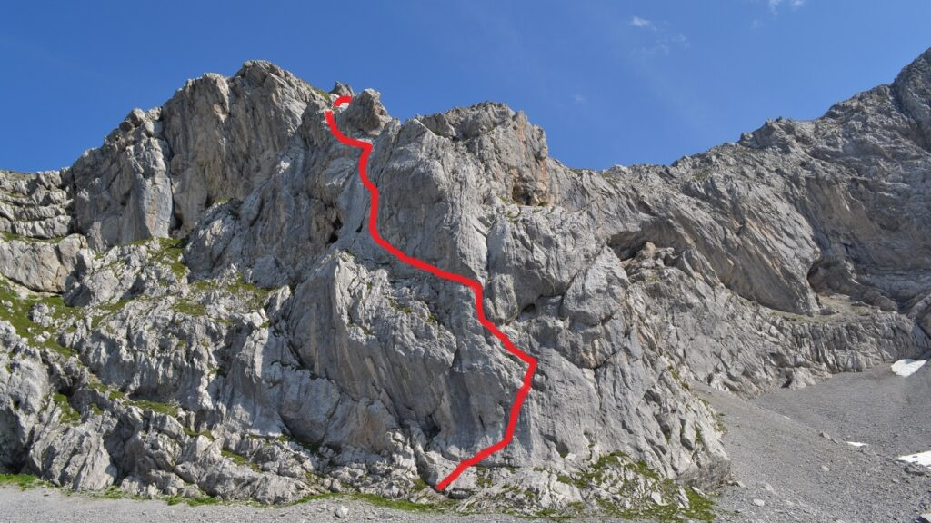 Klettersteig Bälmeten (ist noch geschlossen auf Grund Lawinengefahr)