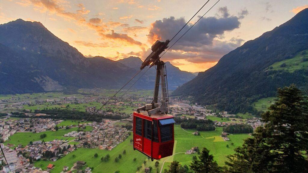 Revision Lufseilbahn vom 5. bis 8. Oktober